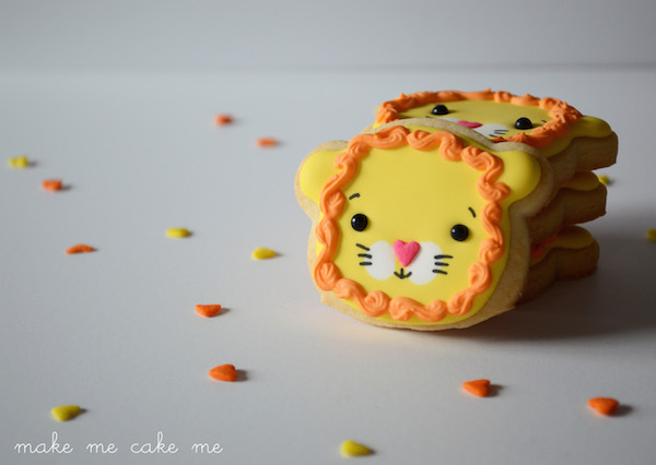 Cute Kawaii Lion Head Cookies Teddy Bear Cutter